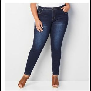 Petite SKINNY WANNA BETTA BUTT JEAN / DARK 30w